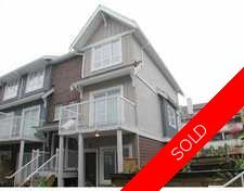 Port Coquitlam Townhouse for sale: Brimley Mews 3 bedroom 980 sq.ft.