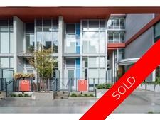 Southeast False Creek Townhouse for sale: Block 100 1 bedroom 766 sq.ft. (Listed 2017-10-10)