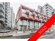 Southeast False Creek Townhouse for sale: Block 100 Studio 760 sq.ft. (Listed 2018-01-16)
